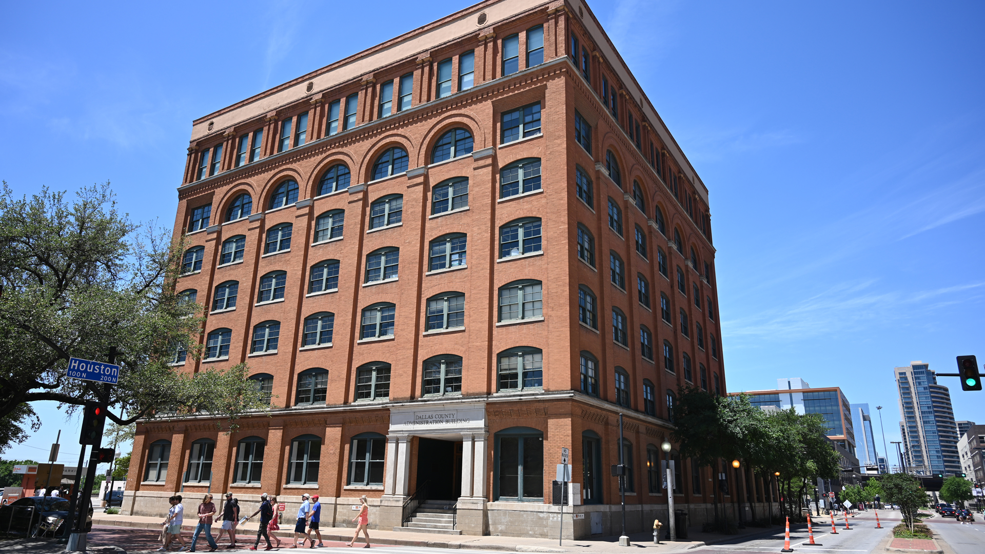 Top landmarks related to the JFK Assassination events in Dallas