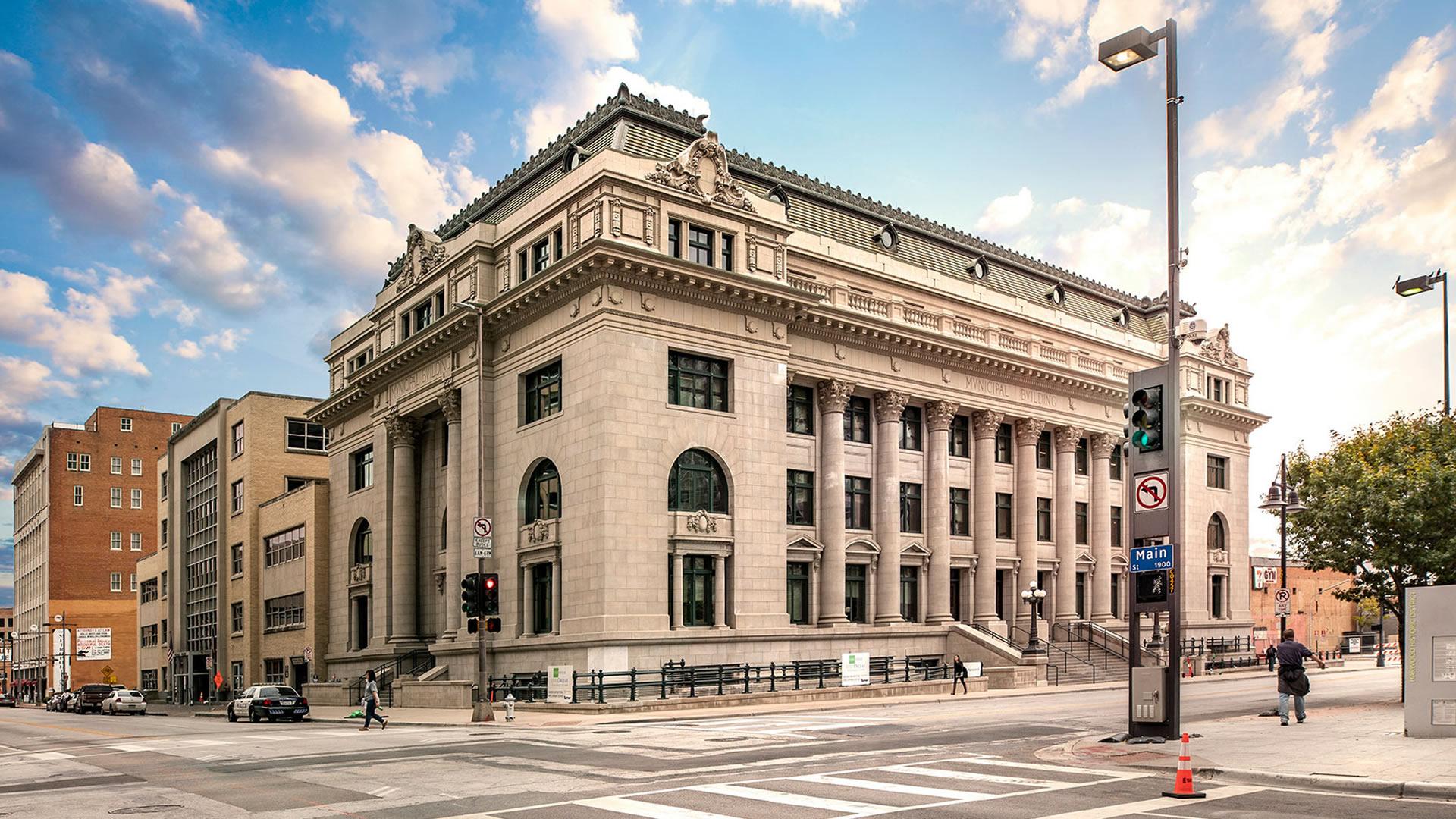 Dallas Municipal Building where Jack Ruby shot Lee Harvey Oswald.
