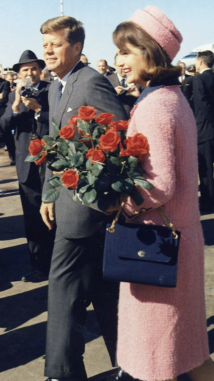 President John F. Kennedy and First Lady Jacqueline Kennedy Arrive in Dallas
