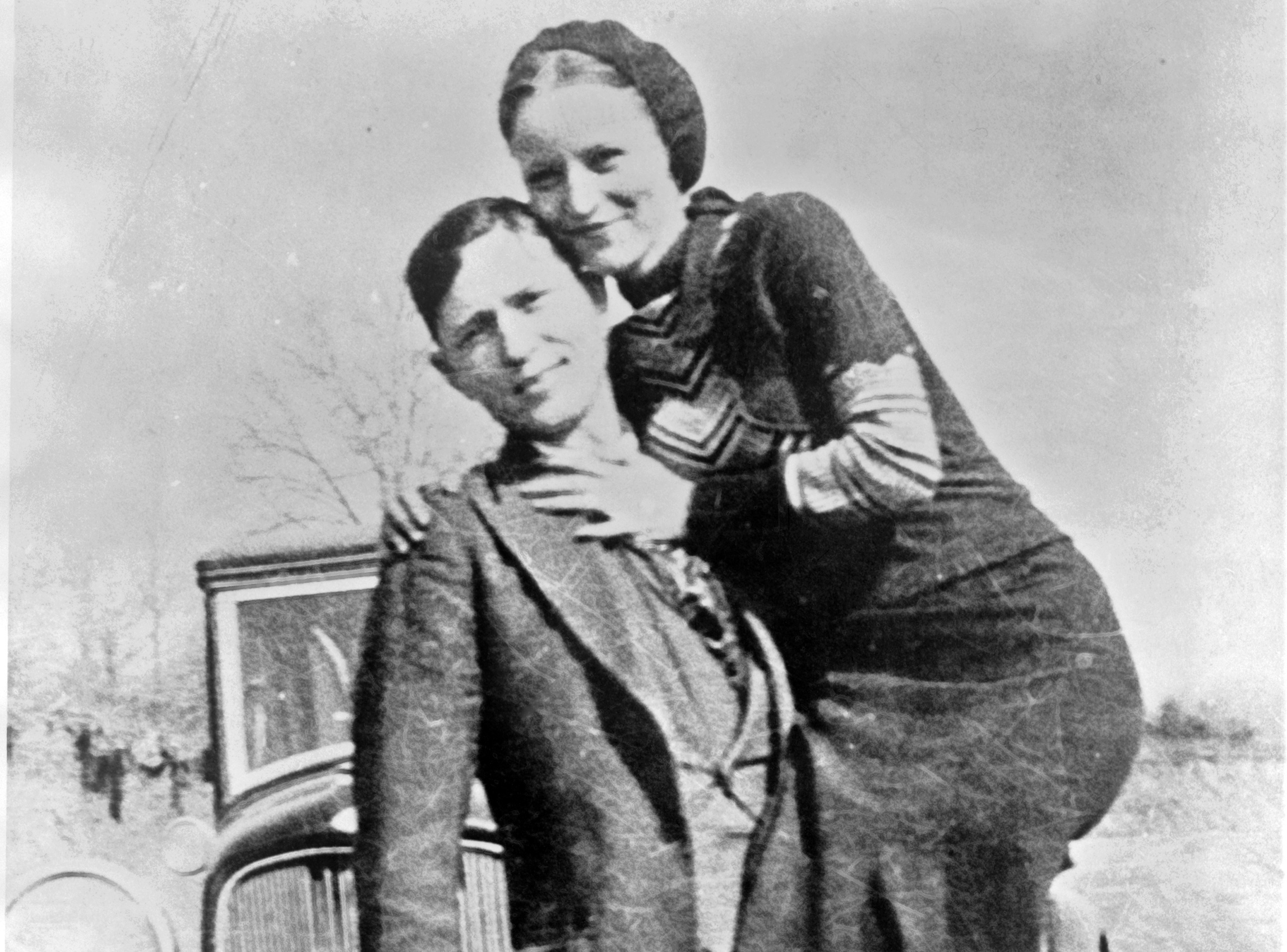 Possibly the most famous and most romanticized criminals in American history, Bonnie Parker and Clyde Barrow