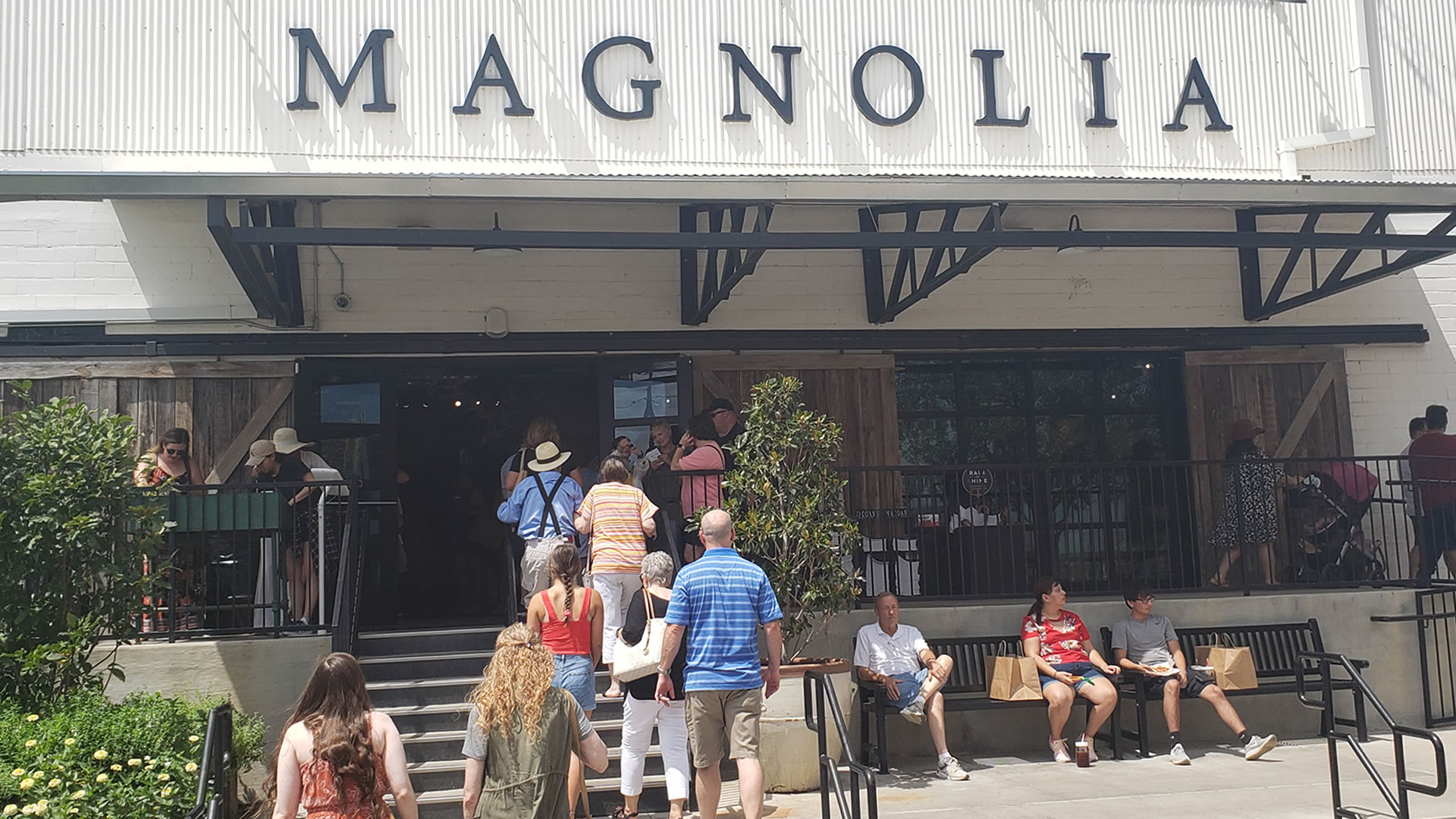 There's a little something for everyone at Magnolia Market at the Silos. Shopping, games, the garden and even a bite to eat.