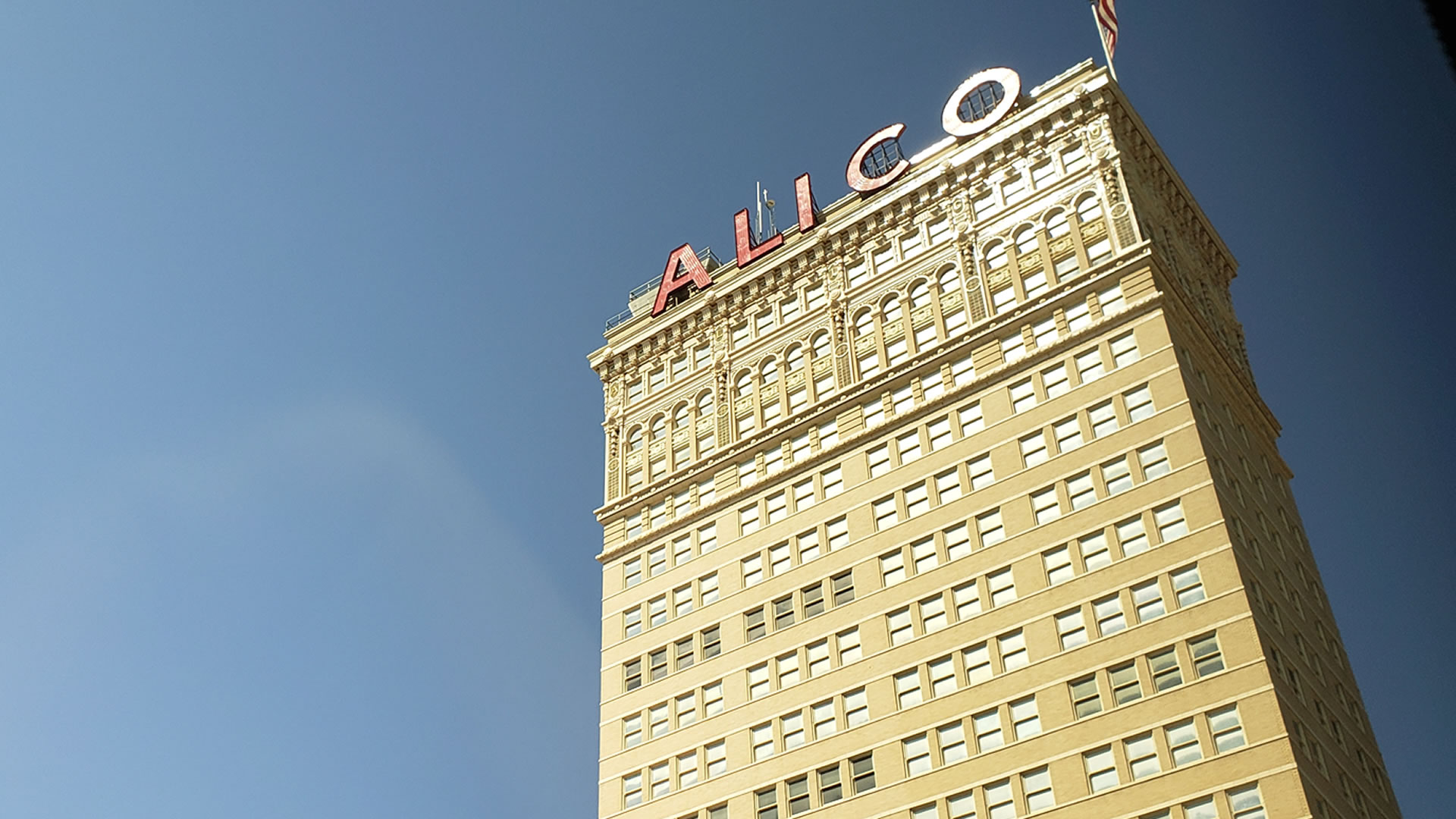 The ALICO Building is a 22-story office building in downtown Waco, Texas, United States, located at the intersection of Austin and 5th Street.